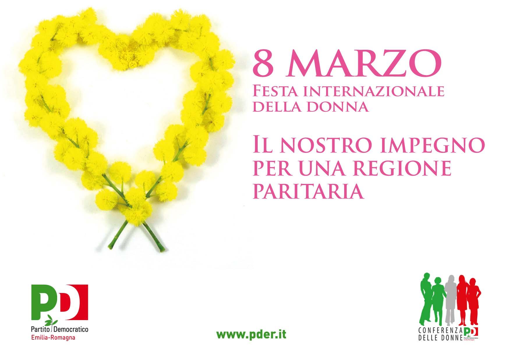 8 marzo , Festa Internazionale della Donna